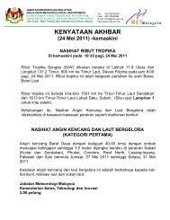24 Mei 2011 - Jabatan Meteorologi Malaysia