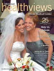 Download the May/June 2009 issue - Ocean Medical Center