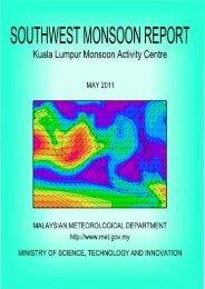 Kuala Lumpur Monsoon Activity Centre May 2011