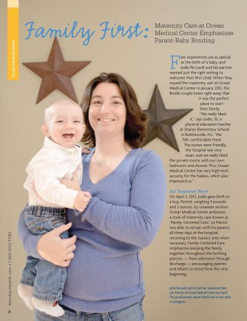 Read Jodie's Story - Ocean Medical Center