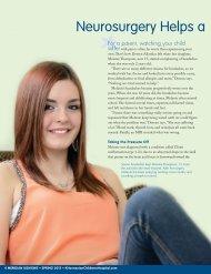 Read Melanie's Story - K. Hovnanian Children's Hospital