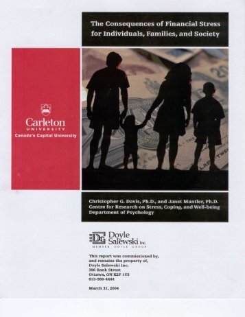 Download the Carleton University Report (PDF). - Doyle Salewski Inc