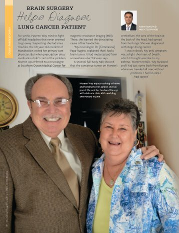 Read Noreen's Story - Ocean Medical Center