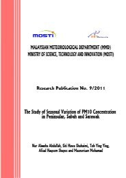 The Study of Seasonal Variation of PM10 Concentration in ...