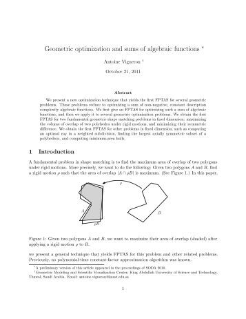 Point location in geometric algorithms pdf