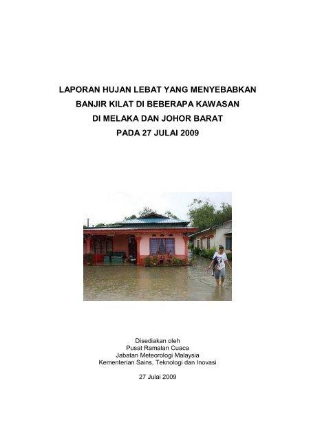 Laporan Banjir Kilat