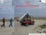 Présentation du forage-carottage continental - C2FN - CNRS