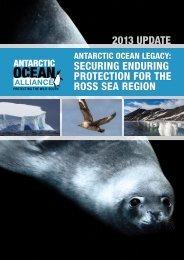 Download the 2013 Report Update - Antarctic Oceans Alliance