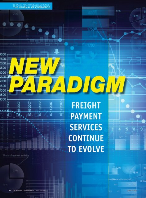 freight payment services continue to evolve - Journal of Commerce