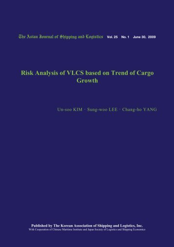 Risk Analysis of VLCS based on Trend of Cargo Growth - Ajsl.info