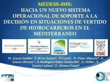 Presentación de PowerPoint - Mediterranean Decision Support ...