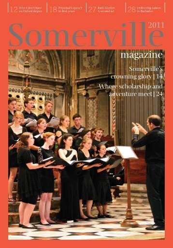 magazine - Somerville College - University of Oxford