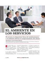 Gestión y Estrategia /El ambiente en los servicios ... - Ekos Negocios