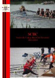 Somerville College Boat Club Newsletter