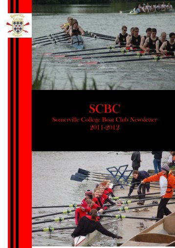Somerville College Boat Club Newsletter