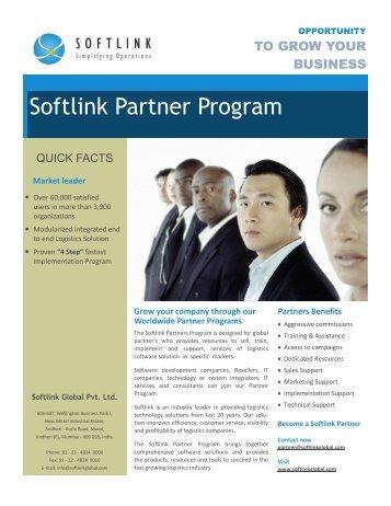 Softlink Partner Program - Logi-Sys