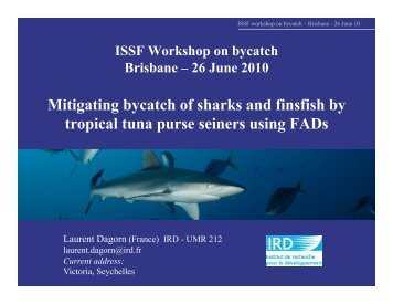 ISSF Workshop on bycatch Brisbane