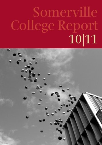 Somerville College Report - University of Oxford