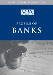 MBA Profile of Banks 2012 Edition - Mauritius Bankers Association ...