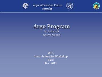 2.2. Argo profiling float program - World Ocean Council