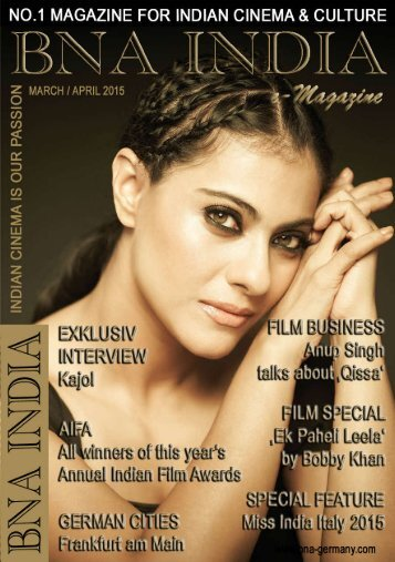 BNA INDIA - March / April 2015