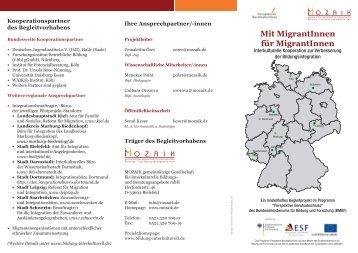 Mit MigrantInnen für MigrantInnen  - Qualifizierung nach Maß