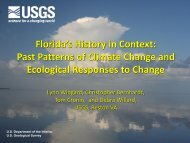 Past Patterns of Climate Change and Ecological Responses to ...
