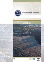 a post-IPCC AR4 update on sea- level rise - Antarctic Climate and ...