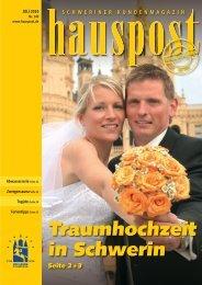 Traumhochzeit in Schwerin - Hauspost