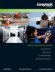 service provider solutions - Graybar Canada