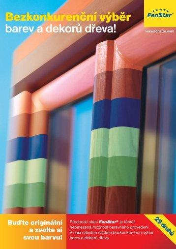 Bezkonkurenční výběr barev a dekorů dřeva!