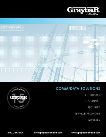 comm/DAtA SoLutionS - Graybar Canada