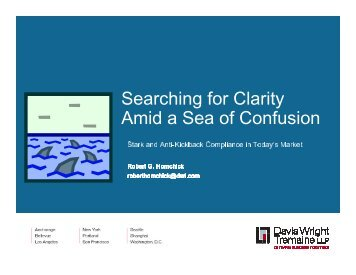 Searching for Clarity Amid a Sea of Confusion