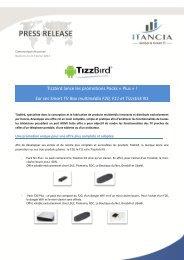 Tizzbird lance les promotions Packs « Plus » ! Sur ses ... - Itancia