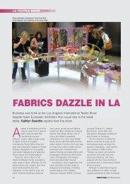 Fabrics Dazzle In LA - FabricLink