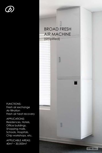 BROAD FRESH AIR MACHINE