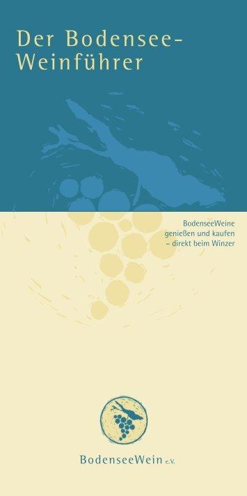 Die Weine - Bodenseewein.de
