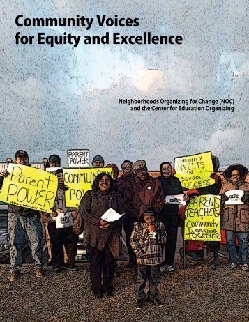 Community Voices for Equity and Excellence