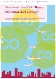Mobilität und Umwelt - Bundeszentrale für politische Bildung