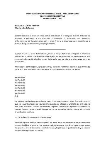 INSTITUCIÓN EDUCATIVA FEDERICO ÁNGEL - Iefangel