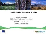 Environmental impacts of food - Eupopp.net