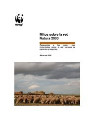 Mitos sobre la red Natura 2000 - WWF