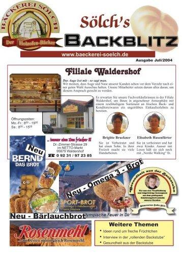 Filiale Waldershof - Christian Wettinger