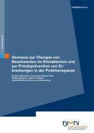 Hormone zur Therapie von Beschwerden im Klimakterium und - Dimdi