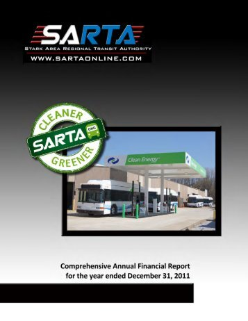 2011 CAFR - Stark Area Regional Transit Authority