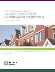 The Low-Income Housing Tax Credit Program at ... - CohnReznick