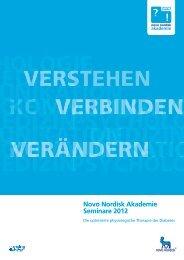 Die Novo Nordisk Akademie - FARBEN+FORMEN Werbeagentur ...