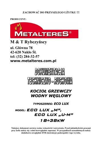 ECO LUX - Metalteres