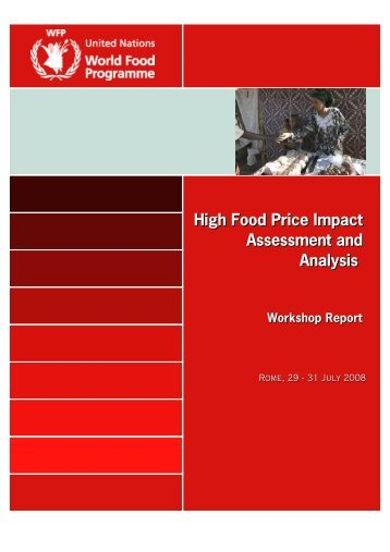 High Food Price Impact Assessment and Analysis - WFP Remote ...