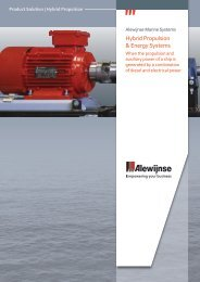 Hybrid Propulsion& Energy Systems - Alewijnse making waves 2012